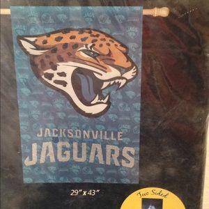 JACKSONVILLE JAGUARS NFL HOUSE FLAG